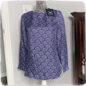 Elizabeth McKay silk blouse